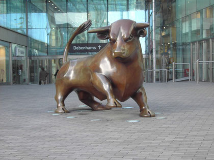 The Bullring Bull by Laurence Broderick