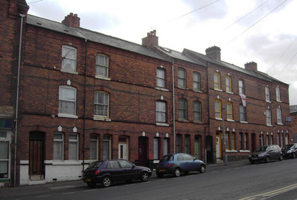 19th-century houses in Bordesley Street