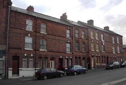 19th-century houses in Bordesley Street