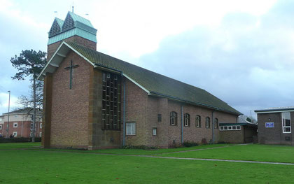 St John the Baptist viewed from the north. Image © Jonathan Billinger downloaded from Geograph, OS reference SP0177, under Creative Commons Licence Attribution-Share Alike 2.0 Generic. See Acknowledgements.