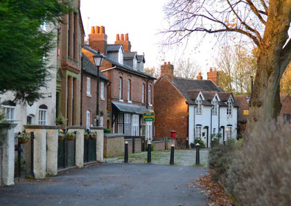 Yardley Village - image by Anne-Marie Hayes on the Birmingham Conservation Trust website