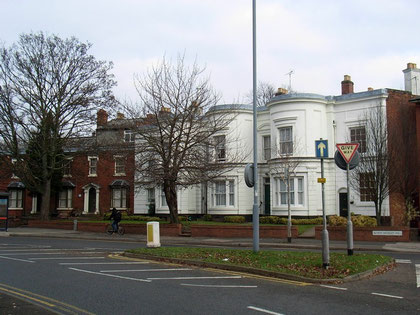 Houses on the Moseley Road