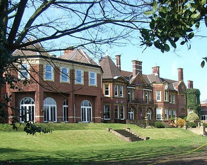 The present Moor Hall built after 1903