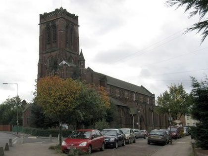 Bishop Latimer Church © Peter Whatley licensed for reuse under Creative Commons Licence Attribution-Share Alike 2.0 Generic. Image from Geograph website OS reference SP0488.
