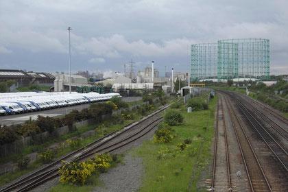 Birmingham & Derby Railway, LDV van factory (now closed)