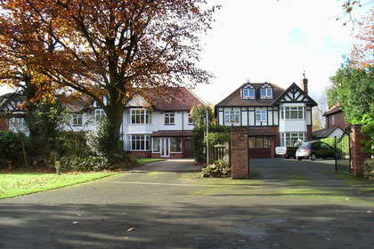 1930s houses on Hodge Hill Common