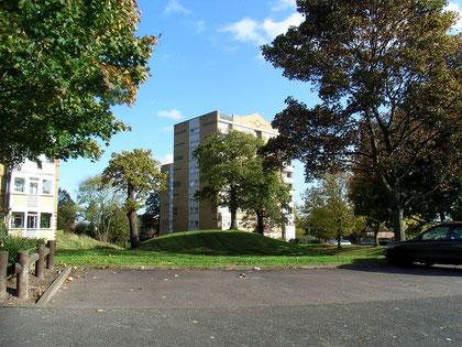 Kingshurst Knobbe, the remains of Kingshurst castle