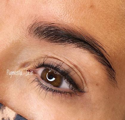 Permanent Make up Augen, Lidstrich bei Pigmenta Skin