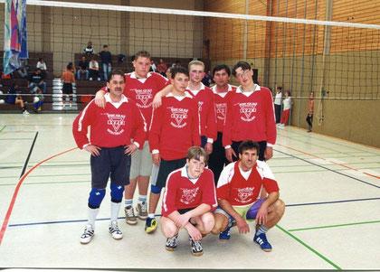 Sozialsportler bei den Deutschen CVJM Volleyball Meisterschaften