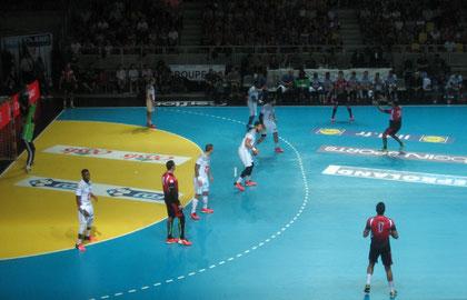 Frankreich gegen Ägypten
