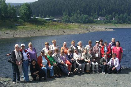 Die Teilnehmerinnen der kurzweiligen Busfahrt in den Harz waren begeistert