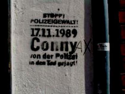 Stop politivold! 17.11.1989: CONNY - jaget i døden af politiet