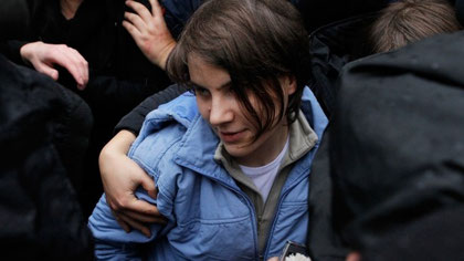 Pussy Riot aktivist Jekaterina Samuzewitsch (30)