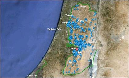 Israelske bosættelser på palæstinensisk territorium (2010)