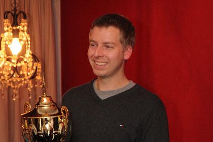 Vereinsmeister 2012: Christophe Rude