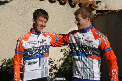Matthieu Nuns et Christophe Huch