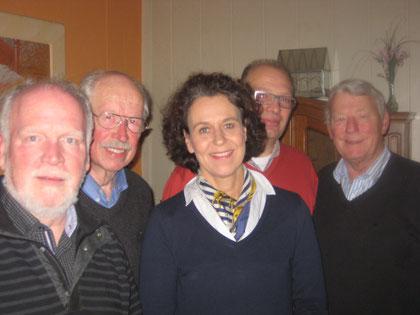 Friedhelm Penning (Beisitzer), Reinhard Wilken, (früher MdL), Beatrix Kuhl, Dirk Beening (Beisitzer) Hendrik Hamer (stellv. Vorsitzender)