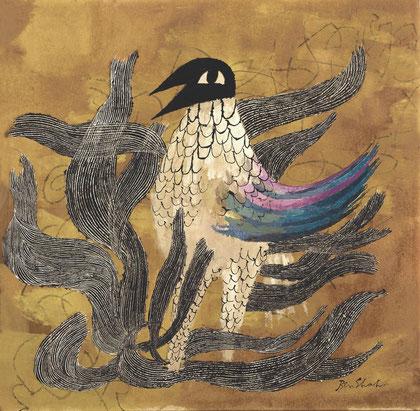 """""""The Phoenix"""" by Ben Shahn (1952)."""