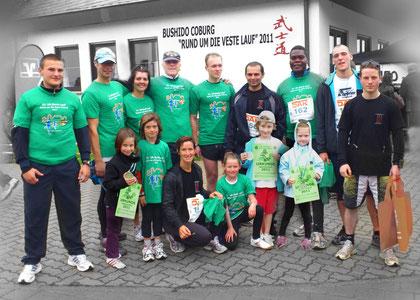 die erfolgreichen Läufer des diesjährigen Rund um die Veste Lauf