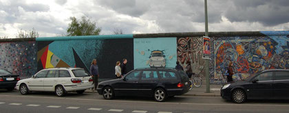 East Side Gallery Berlin, Trabi, TEST THE REST