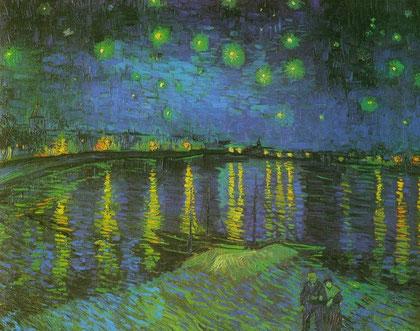 """Vincent van Gogh: """"Sternennacht über der Rhone"""""""