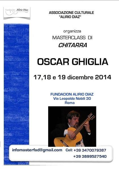 Masterclass Oscar Ghiglia