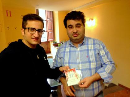 Rassegna Stampa Compagnia Teatrale i Frastornati - Tantissimi partecipanti al quiz dei Frastornati. Il vincitore è Michele Pollina
