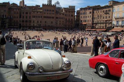 Ortsdurchfahrt Siena: Piazza de Campo