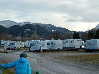 Wohnmobilstellplatz Alpen-Rundblick, Blaichach