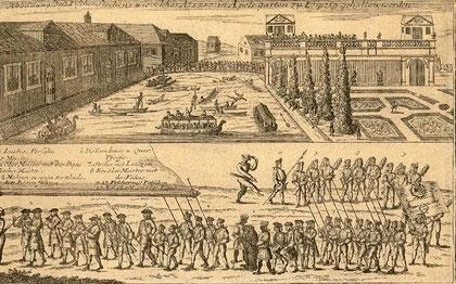 Fischerstechen in Apels Garten 1717