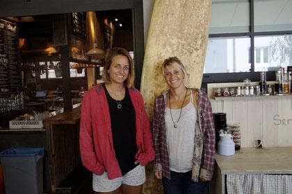 Aline Bock und Lena Stoffel (v.l.) @ Regionalsport.at/Hofbauer