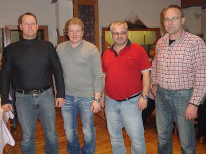 Die Siegermannschaft der FF Miesenbach