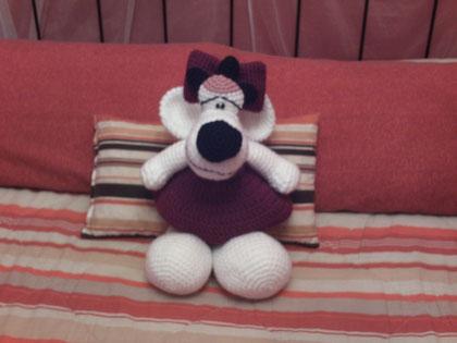 Ratona de crochet
