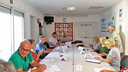 Atelier oenologie le 03/09/2015