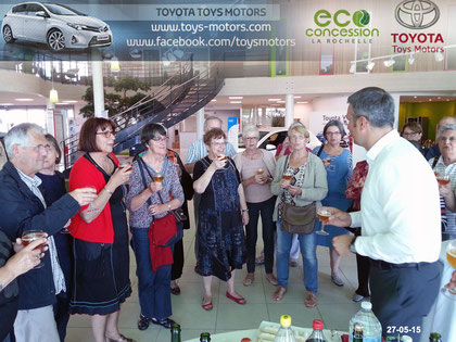 Visite éco-concession Toyota 27-05-2015