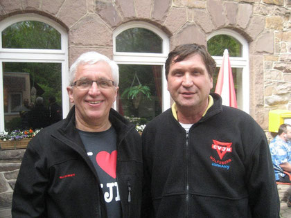 Karl-Heinz Stengel (links) und Manfred Wille