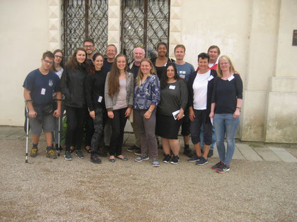 Teilnehmerinnen und Teilnehmer aus Tschechien und Deutschland