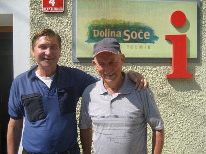 Marco Leban (rechts) und Manfred Wille