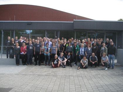 Teilnehmerinnen und Teilnehmer der eruopäischen CVJM-Konferenz