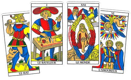 Tarot de Marseille - voyance à Tours, chinon, joué-les-tours, saint pierre de corps