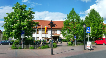Der Verwaltungssitz der Verbandsgemeinde Eich.