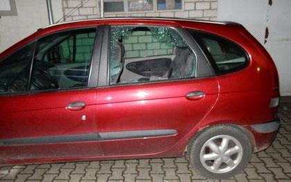 Aufgebrochener PKW Foto: Polizei Worms