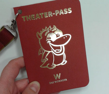 Theater-Pass für Kinder. Foto: KVG Worms