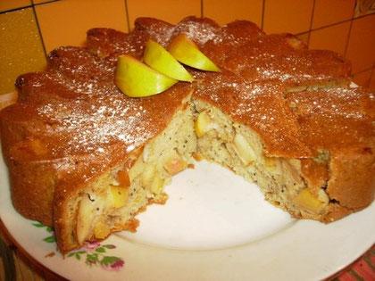 простой яблочный торт рецепт с фото