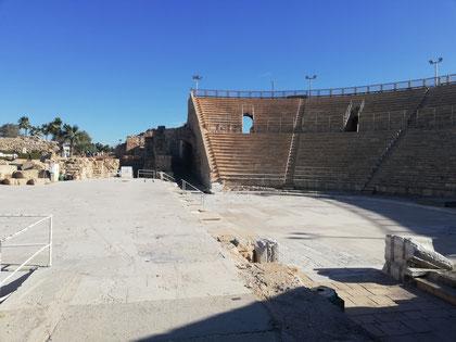 Древнейший театр на Ближнем Востоке