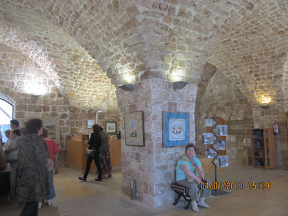 залы крепости гопитальеров