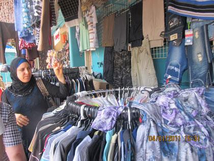 крытый базар в Акко