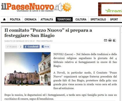 Il Paese Nuovo 02/2012