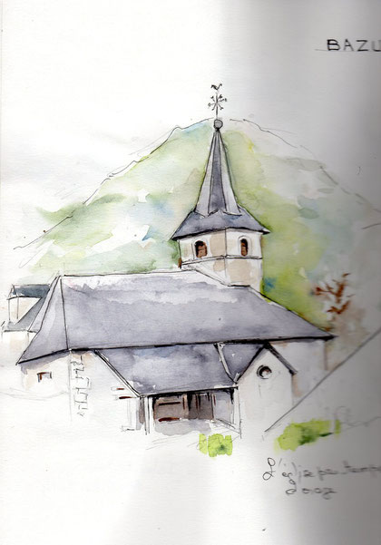 Eglise de Bazus