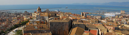 a view of Cagliari